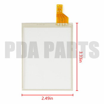 10pcs TOUCH SCREEN (Digitizer) for Honeywell Dolphin 6500 (for LCD: TD035STED7)