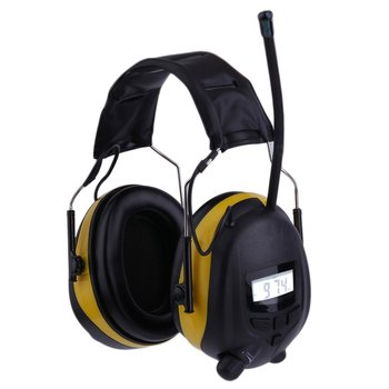 Headphones LCD Display HiFi Bass Stereo Earphone Wireless Headset FM Radio AM/FM Earmuff