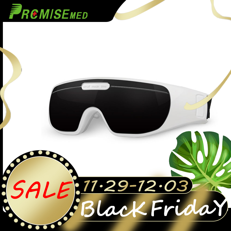 pr+mise Wireless Charging Eye Protection Instrument 3D Recovery Training Treatment EMS Pulse Child Myopia Treatment Massager