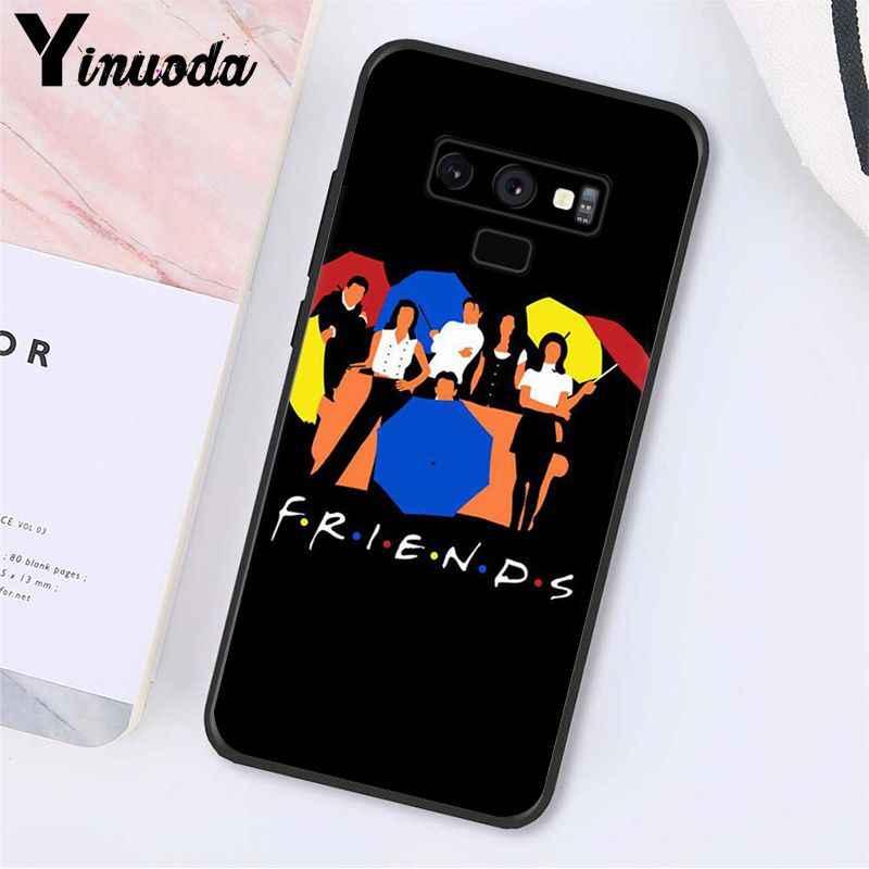 Yinuoda centralny Perk kawy przyjaciele tv pokaż telefon dla Samsung Galaxy A50 Note7 5 9 8 Note10Pro J5 J6 Prime j610 J6Plus J7DUO