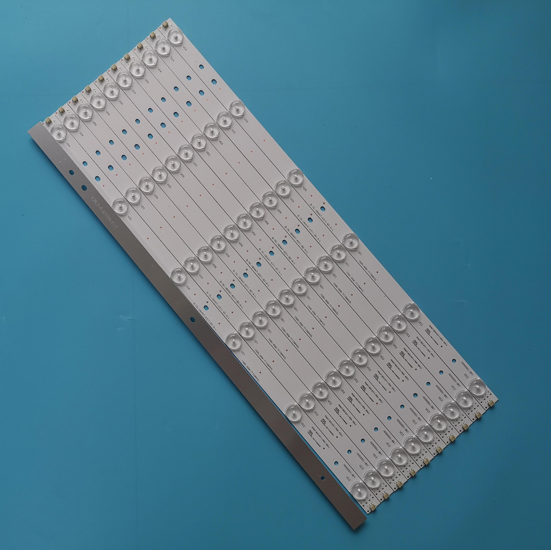 """11 pièces/ensemble Nouveau LED Bande HD500DU B01 RSAG7.820.6311/ROH Pour Hisense 50 """"TV LED 50EC590UN LED 50EC280JD LED 50K320U 20JD-in Adaptateurs AC / DC from Electronique    1"""