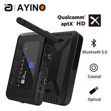 Bluetooth 50 передатчик приемник практичный ПК оптический коаксиальный