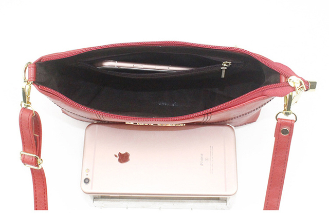 SMOOZA Retro Women Handbags Female Shoulder Crossbody Bags Ladies Artificial Leather Small Stripe Messenger Envelope Bags 4