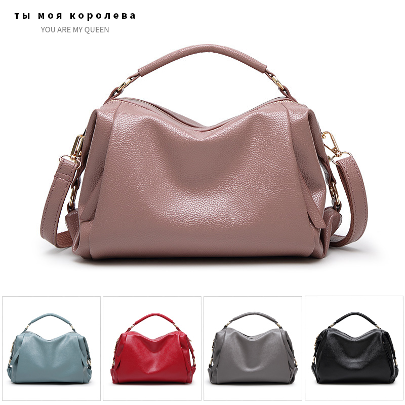 Fashion Women Bag High Quality PU Leather Messenger Shoulder Bags Designer Luxury Handbags Famous Brands Soft Leather Tote Bag