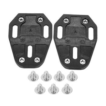 1Pair Self-locking Bicycle Pedal Splint Road Bike Lock Plate for Speedplay Zero Nylon Riding Splint Accessories image