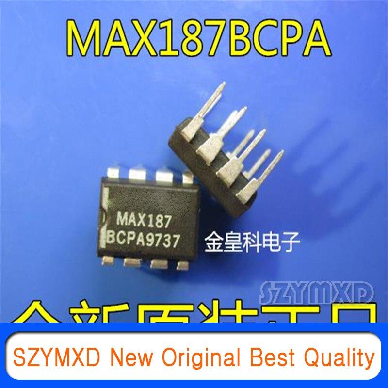 1 шт./лот новый оригинальный MAX187BCPA MAX187 DIP8 Американский письмо аналого-цифрового преобразователя чип в наличии