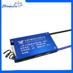 Image 1 - 16S 48V BMS Lifepo4 Batterij Bescherming Boord Balanece Waterdichte Tempo Controle DIY Gadget Mobiele Balancer Accessoires Voor Ebike