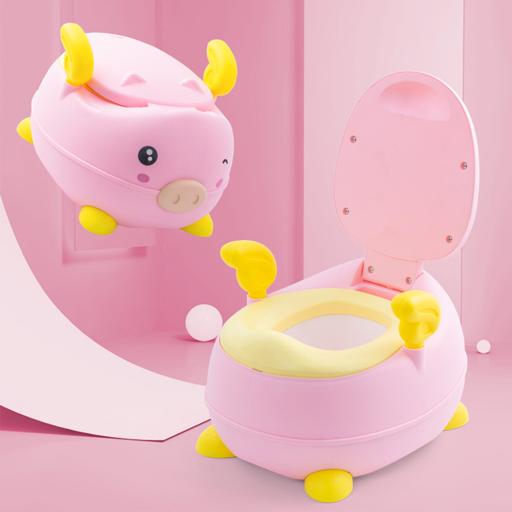 Portable Baby Pot Cute Toilet Seat Pot For Kids Potty Training Seat Children's Potty Baby Multifunction Travel Training Toilet