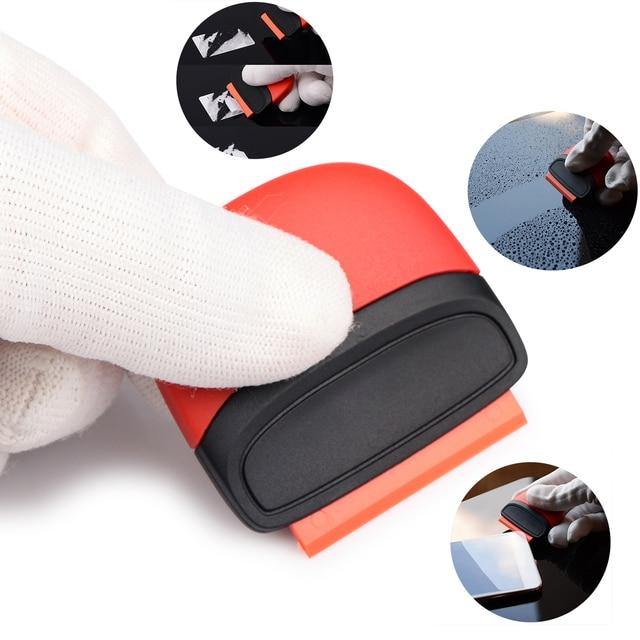EHDIS Multi Sticker Remover Razor Scraper Squeegee Window Tint Glue Film Glass Ceramic Cleaner+Blade Car Wrapping Tool Tint Tool