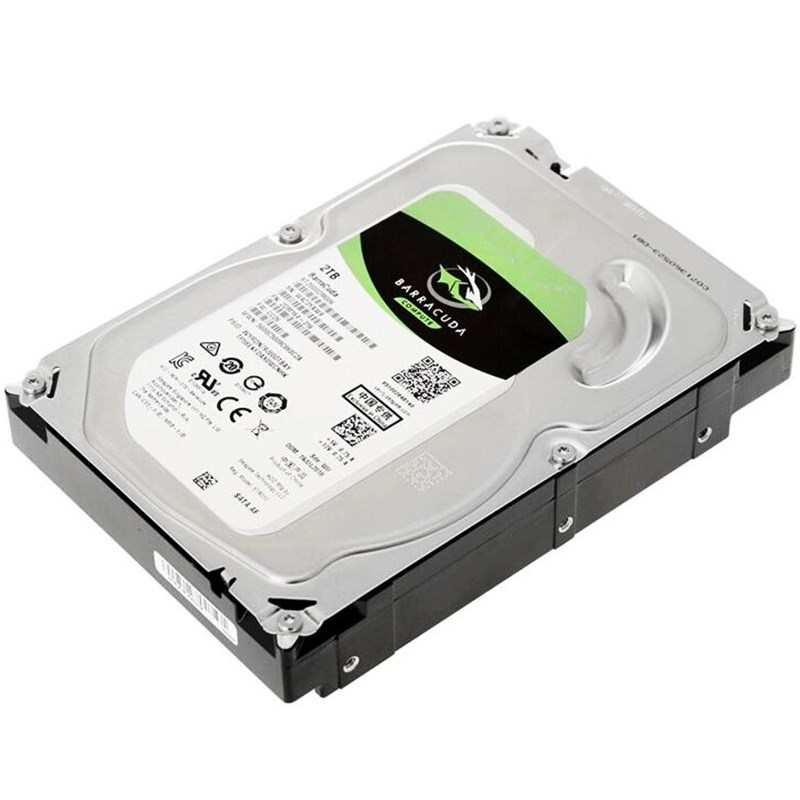 """New HDD For Seagate Brand BarraCuda 2TB 3.5"""" SATA 6 Gb/s 256MB 7200RPM For Internal Hard Disk For DesktopHDD For ST2000DM008 2"""