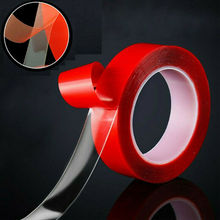 Waterproof Heat Resistant Adhesive Tape Double Side Strong Sticky High Temp Removable Double-Sided Adhesive Tape недорого