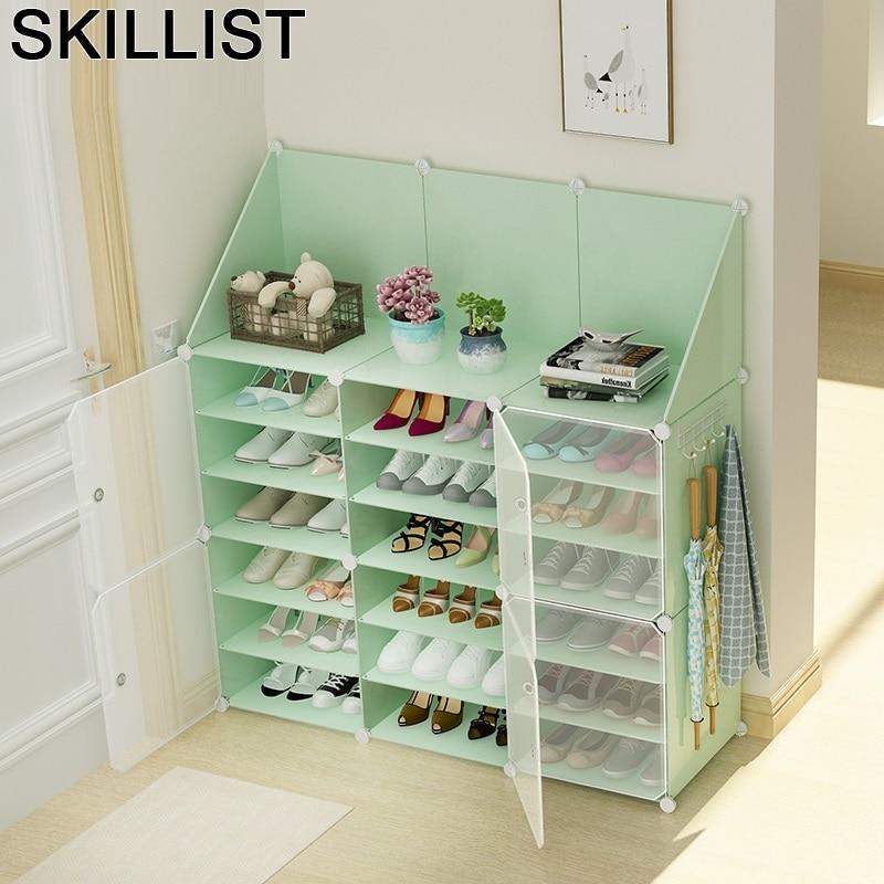 Armoire Rangement Moveis Para Casa font b Closet b font Organizador De Zapato Porta Scarpe Scarpiera