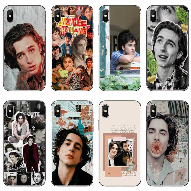 Timothee Chalamet 액세서리 iPhone 11 Pro XS Max XR X 8 7 6 6S Plus 5 5S SE 4S 4 iPod Touch 5 6