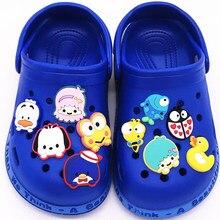 Decoration-Accessories Shoe-Charms Cartoon Garden-Shoes Animals Girls Gift Dog PVC 1PCS