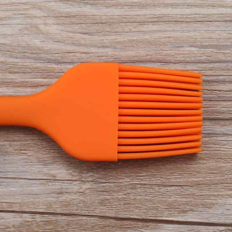 1 pçs silicone cozimento escovas de óleo líquido caneta bolo manteiga pão pastelaria escova utensílio basting escova ferramentas para churrasco cozinha ferramenta