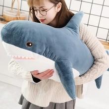 Pillow Cushion Doll Gift Plush-Toy Shark Birthday-Gifts Animal-Reading Stuffed Giant