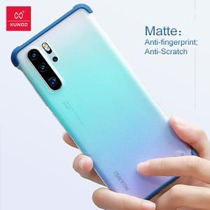 Image 5 - Xundd Telefon Fall Für Huawei P30 Pro Fall Airbag Stoßstange Schutzhülle Cases Matte Unframed Abdeckung Glas Für Huawei P30 Pro abdeckung