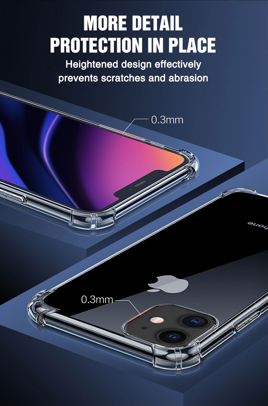 Transparent Shockproof Soft Silicone Case for iPhone 12 Pro Max2