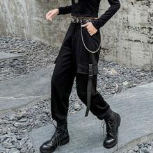 Женские брюки карго в Корейском стиле повседневные облегающие