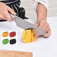 Apontador de faca mini haste cerâmica apontador de faca portátil haste de cerâmica afiador de pedra de amolar facas de afiar ferramentas de cozinha de pedra