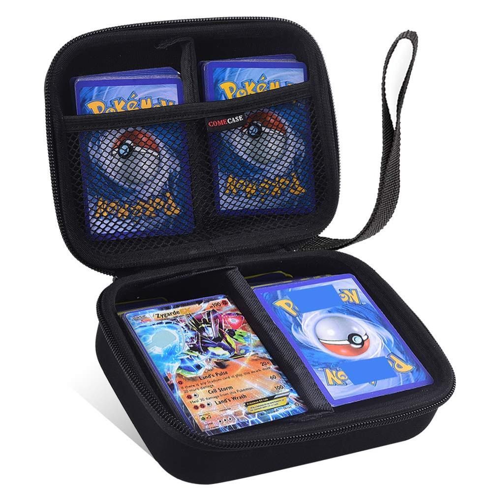 Can Hold 400Pcs Cards Holder Album Pokemon Box Gx Francaise Card Holder For Pokemon Card Holder Pikachu Game Cards Book