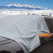 Alta qualidade automóvel pára-sol capa pára-brisa do carro neve sol sombra à prova dwaterproof água protetor capa frente do carro pára-brisas capa