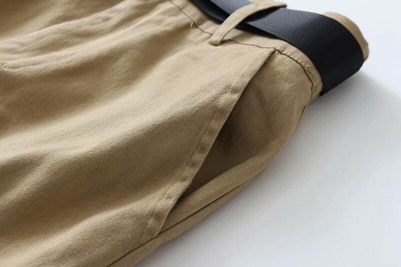 alta macacão solto calças casuais