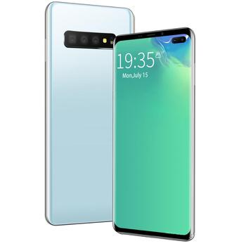 Gobal Version Galxy S10 Smartphone FullScreen 8GB+128GB 4 core Android 9.0 Finger Face ID Dual Camera 4G Smart Mobile lenovo s60 w 4g lte 5 0inch android 4 4 2gb 8gb smartphone 13 0mp