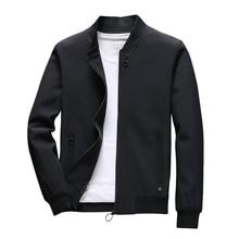 COMLION męskie kurtki wiosenne i płaszcze jednokolorowe casualowa kurtka mężczyźni gorąca sprzedaż kurtka Jaqueta Masculina Asian rozmiar Slim Fit C34