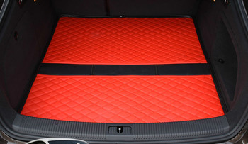 Custom Special Car Trunk Mats for Volkswagen CC GOLF POLO TIGUAN PASSAT EOS Bettle 5seat Waterproof Durable Cargo Rugs Carpets