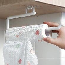 Küche Papier Rollen Halter Handtuch Aufhänger Rack Wc Papier Halter Bad Veranstalter Regal Bar Schrank Lappen Hängen Halter