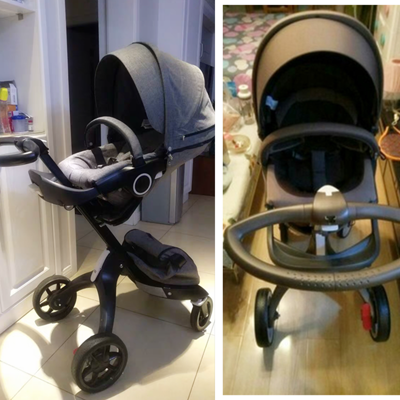 2 In 1   3 In 1  V4 V6  V8 European High Vision Stroller Pram