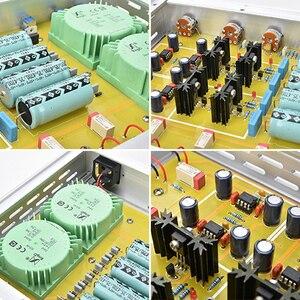 Image 5 - AIYIMA HIFI Class A Preamp เครื่องขยายเสียงแหลม Midrange BASS อิสระการควบคุมระดับเสียง Preamplifier 4 WAY โฮมเธียเตอร์