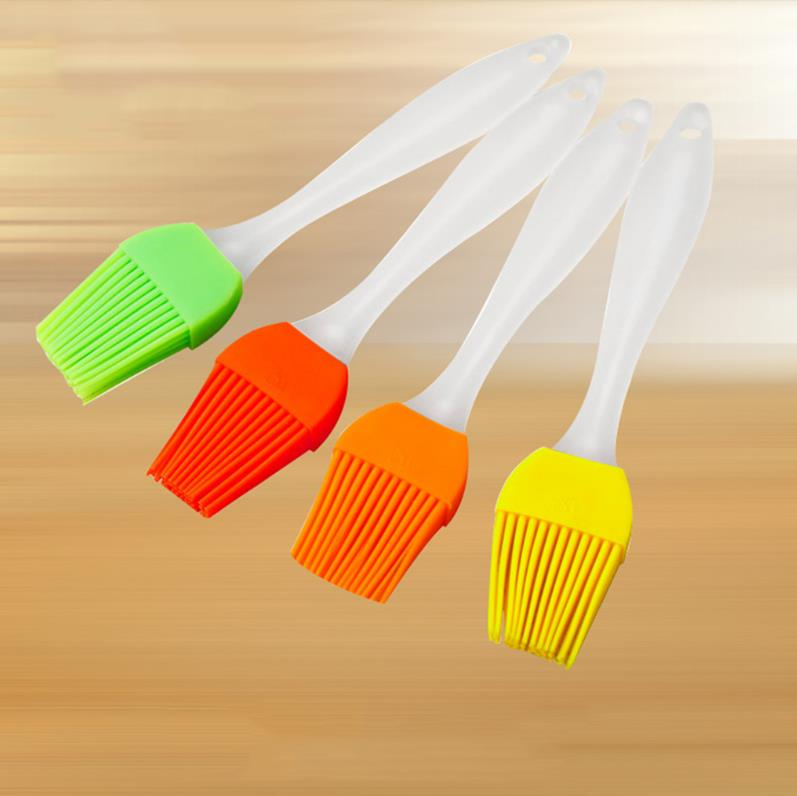 Barbecue brush high temperature oil brush food grade silicone baking tools barbecue oil bottle brush kitchen brush bbq tools