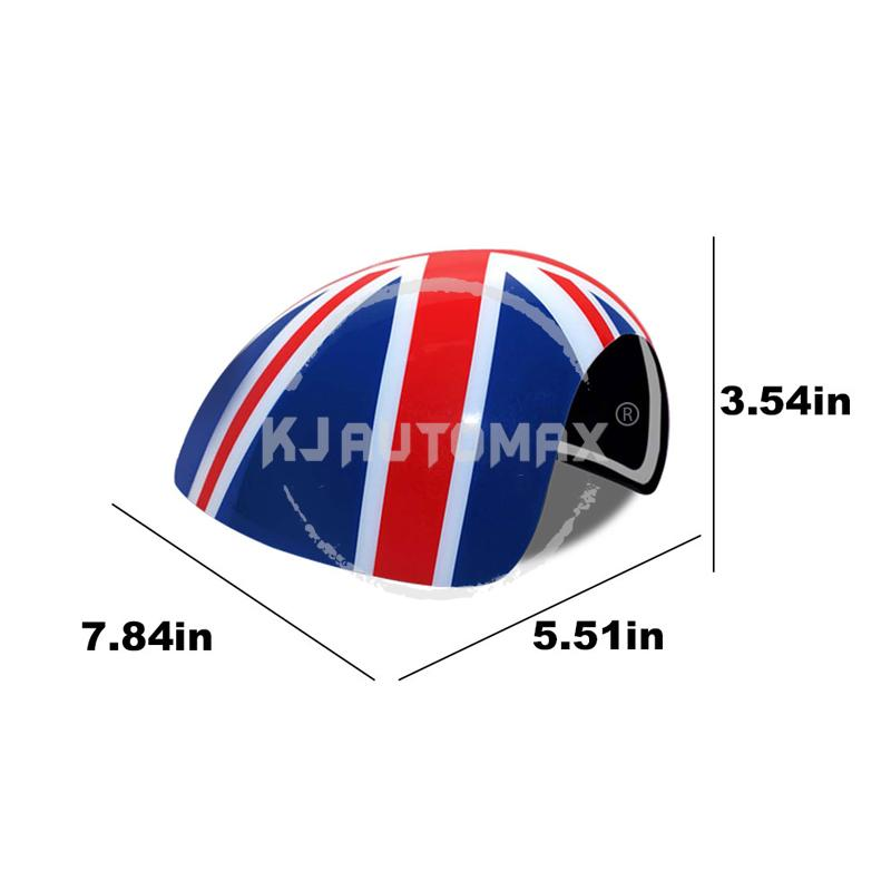 cheapest KJAUTOMAX For Mini Cooper R50 R52 R53 Rearview Side Wing Mirror Cover Caps Right Steering Car Styling Accessories