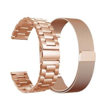Stainless Steel Wristband fossil strap band For Fossil Gen 5 Carlyle /Fossil Julianna / Garrett bracelet
