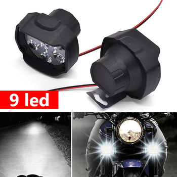 DC 12V Motorcycle Lamp LED Driving Headlight Fog Light Auxiliary Light For KTM Duke 125 200 250 390 690 EXC EXCF SX SXF XC XCF image