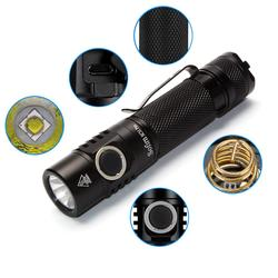 Sofirn SC31 Pro SST40 5000K Powerful 2000LM LED Flashlight 18650 Torch USB C Rechargeable Anduril UI