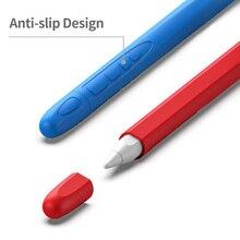 Нескользящий 1 шт. держатель для карандашей силиконовый чехол для Apple Pencil 2 подставка держатель для iPad Pro стилус защитный чехол Горячая Распродажа