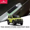 Smabee ящик для хранения дверных ручек для Suzuki Jimny 2019 2020  подлокотник  аксессуары для передних дверей  контейнер  держатель  лоток  автомобильны...