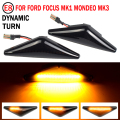 2PCS Repeater Side Marker LED Dynamic Turn Signal Light Blinker Sequential Lamp For Ford Focus Mk1 Mondeo Mk3