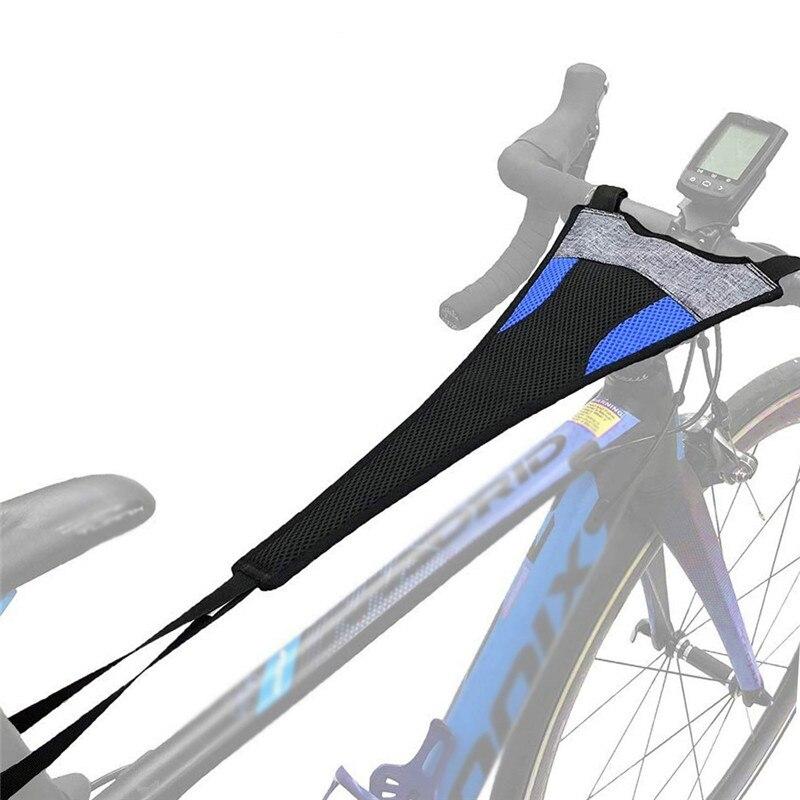 Bicycle Sweatbands Indoor Waterproof Bike Sweatband Cycling Sweatband Handlebar Accessories Sweat Net Frame Guard Rollers