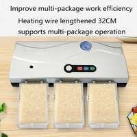 Máquina de envasado de alimentos al vacío para el hogar máquina de sellado de compresión de alimentos pequeños máquina de sellado de plástico al vacío para pasteles de Luna
