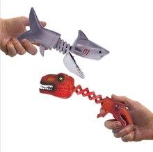 Шутки на Хэллоуин 2020 игрушки динозавр Акула фигурки животных