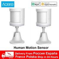 Xiaomi mi Aqara Menschlichen Körper Sensor Motion Sensor Sicherheit Schutz Smart körper Bewegung Zigbee Verbindung für Mijia Homekit APP
