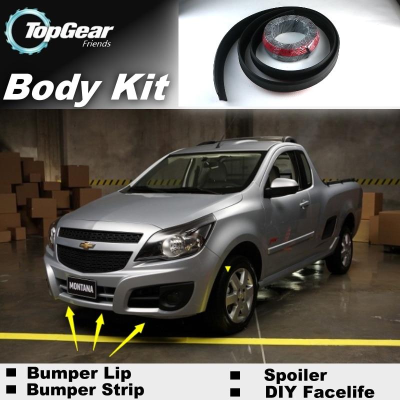 para choques labios para chevrolet tornado utilitario engrenagem superior loja spoiler para carro tuning topgear recomendar