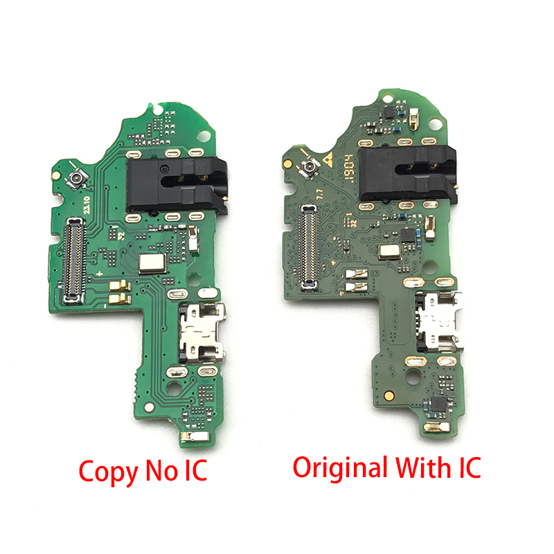 USB Charging Port Board Flex Cable Connector Parts For Huawei P Smart + Plus 2019 Microphone Module