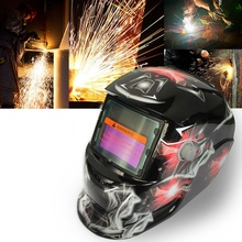 2018 New Pro Solar Welder Mask Auto-Darkening Welding Helmet Glare and colorful