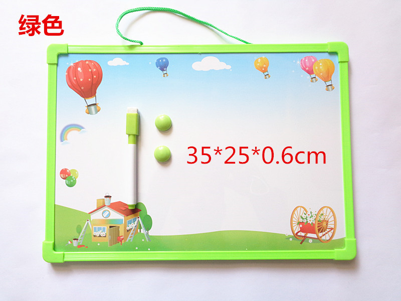 Children Drawing Board Magnetic Drawing Board Baby Infant Small Toys 1-3 Years Old 2 CHILDREN'S Color Oversized Board
