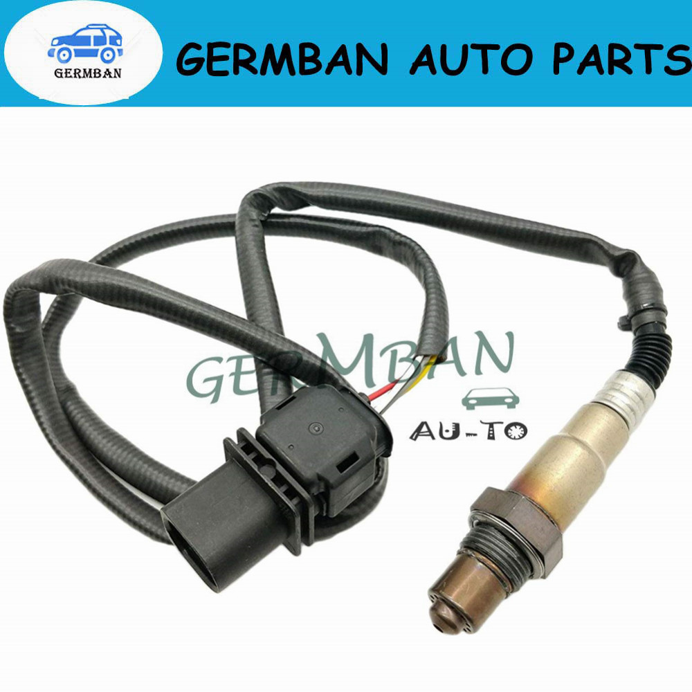 Free Shipping!!0258017025 Lambda O2 Exhaust Gas Oxygen Sensor For V W Skoda Audi LSU 4.9 Wire Band OE#0 258 017 025 30-2004